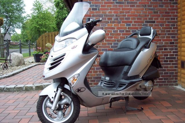 2004 Kymco  Grand thing 125 Motorcycle Scooter photo