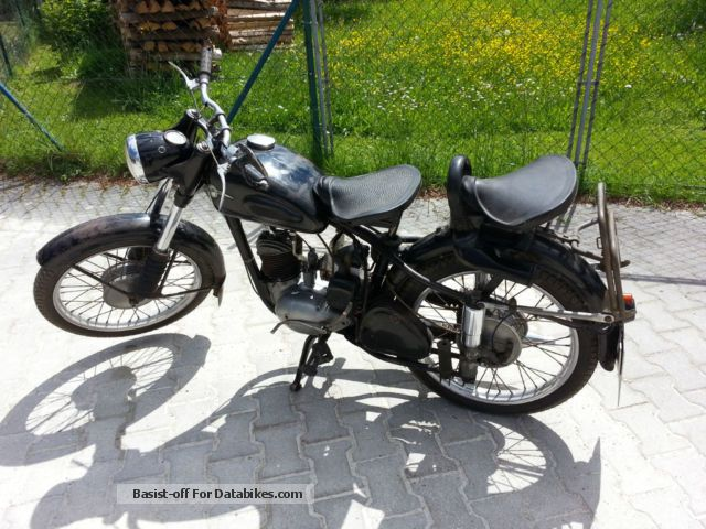 Mz  125/2 1958 Vintage, Classic and Old Bikes photo