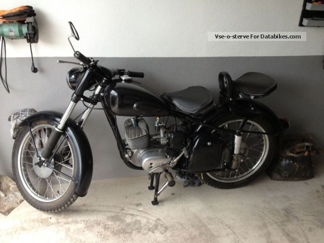 Mz  MZ RT 125-3 1961 Vintage, Classic and Old Bikes photo