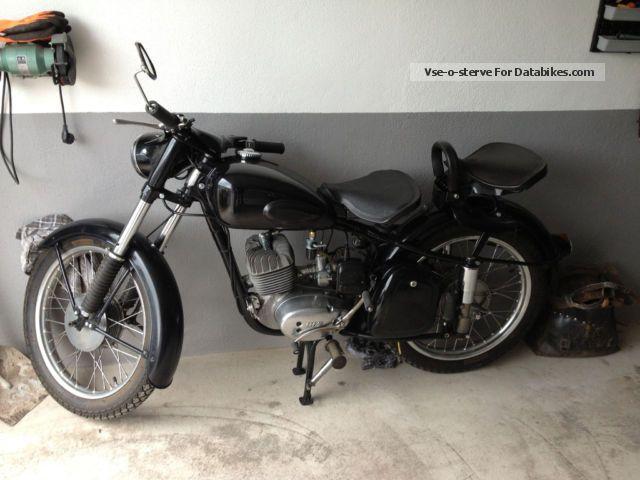 Mz  MZ RT 125-3 1961 Vintage, Classic and Old Bikes photo