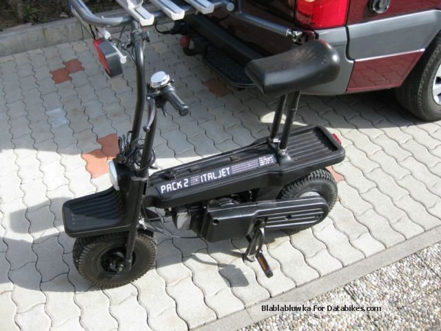 1984 Italjet  Pack 2 folding scooter Motorcycle Motor-assisted Bicycle/Small Moped photo