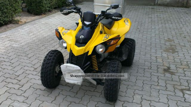 2007 BRP  DS 250 Motorcycle Quad photo
