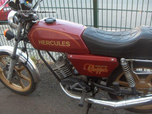 1988 Hercules  AC 80 Motorcycle Chopper/Cruiser photo