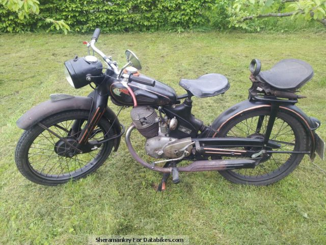 NSU  FOX 1949 Vintage, Classic and Old Bikes photo