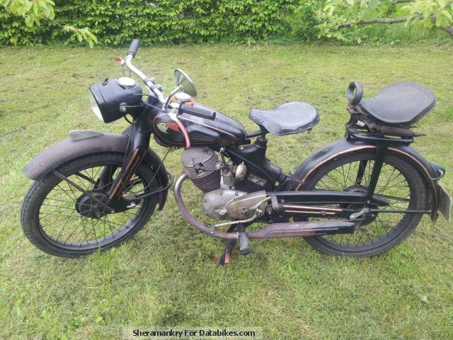 1949 NSU  FOX Motorcycle Motorcycle photo