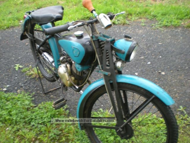 NSU  Quik 1940 Vintage, Classic and Old Bikes photo
