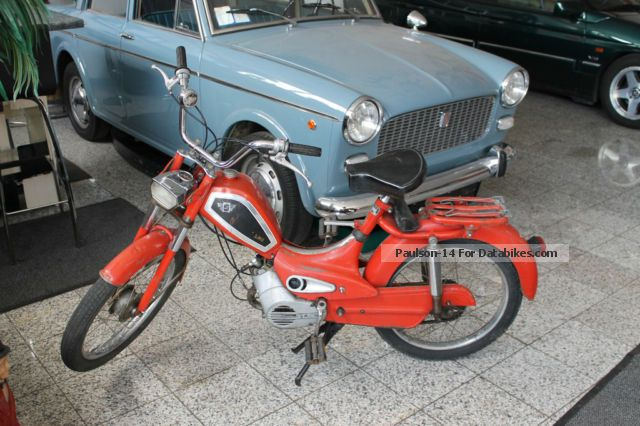 1976 Sachs  Rixe 50cc scooter moped Motorcycle Motor-assisted Bicycle/Small Moped photo