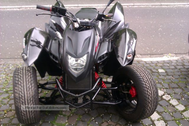 2009 Adly  S 320 flat Motorcycle Quad photo