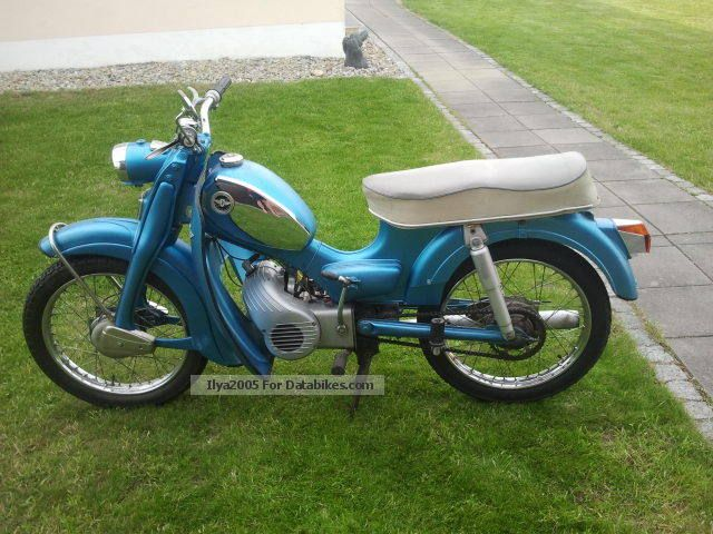 1970 Zundapp  Zündapp C50 Super Motorcycle Motor-assisted Bicycle/Small Moped photo