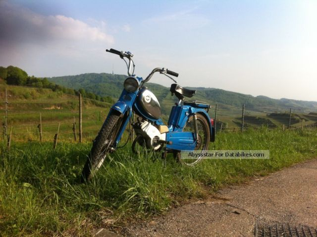 1976 Zundapp  Zündapp 25 M climber Mopeds Motorcycle Motor-assisted Bicycle/Small Moped photo