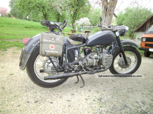Ural  Dnepr K 750 1962 Vintage, Classic and Old Bikes photo