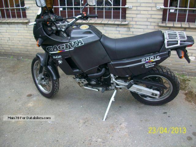 1992 Cagiva  900 ie GT Elephant Motorcycle Enduro/Touring Enduro photo