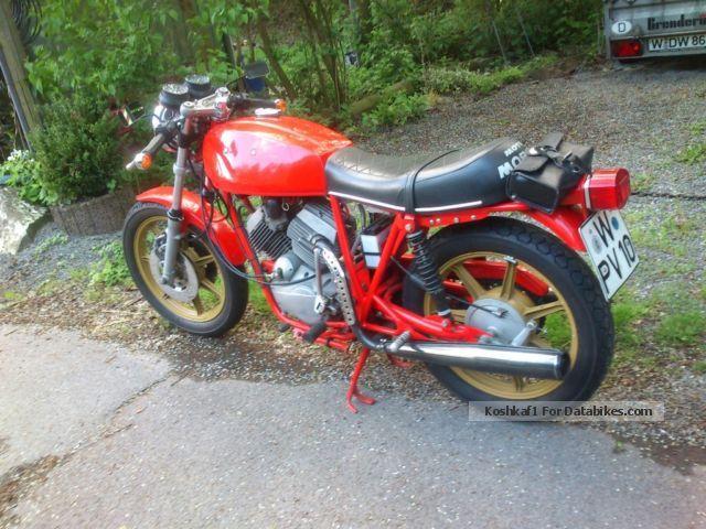 1984 Moto Morini  3 1/2 Motorcycle Naked Bike photo