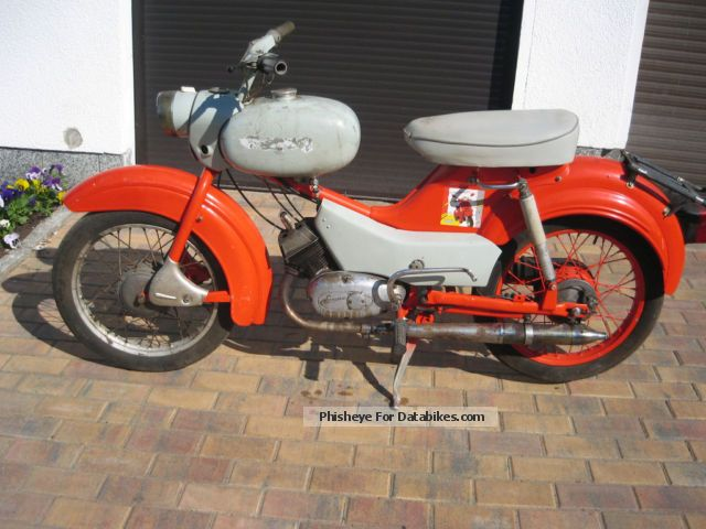 Simson  SR4-1 1970 Vintage, Classic and Old Bikes photo