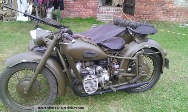 Ural  750 MW 1967 Vintage, Classic and Old Bikes photo
