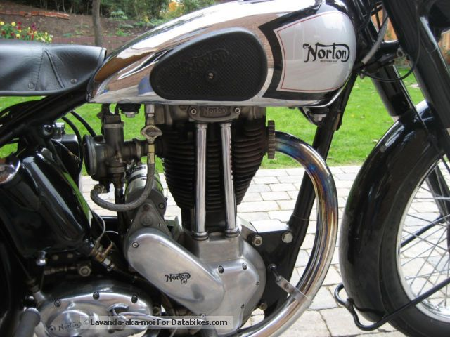 Norton  Mod 18 1950 Vintage, Classic and Old Bikes photo