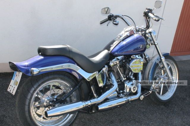 2008 Harley Davidson  Harley-Davidson Softail Motorcycle Chopper/Cruiser photo