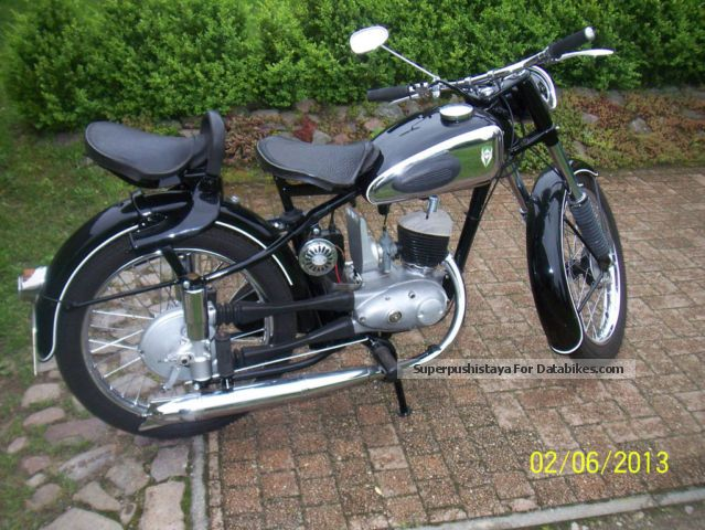 Simson  RT 125/2 1957 Vintage, Classic and Old Bikes photo