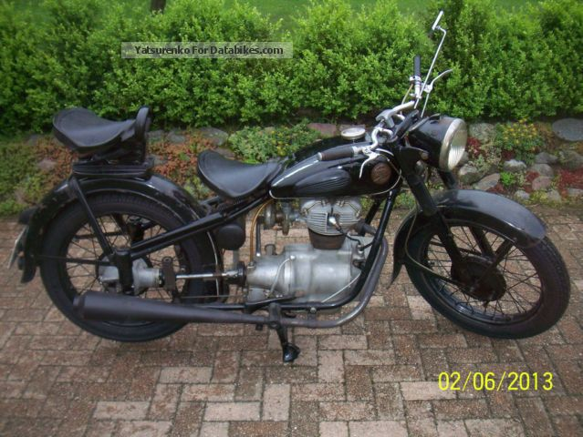 Simson  AWO 425T tours 1953 Vintage, Classic and Old Bikes photo