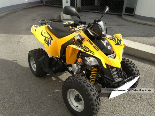 2012 Can Am  DS 250 Motorcycle Quad photo