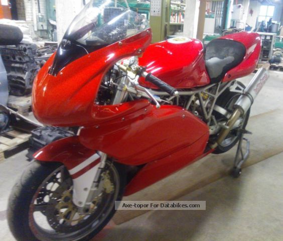 2012 Ducati  SS1000DS Motorcycle Racing photo