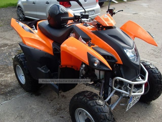 2012 Adly  280 Motorcycle Quad photo