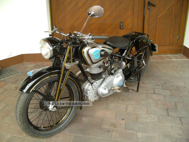 NSU  OSL 251 1951 Vintage, Classic and Old Bikes photo