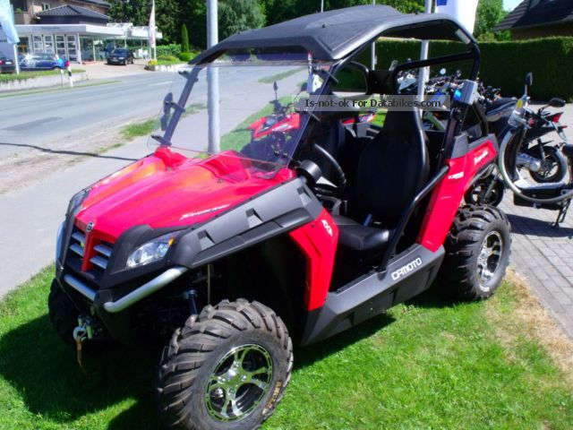 2013 CFMOTO  TerraCross 625 4x4 LOF Motorcycle Quad photo