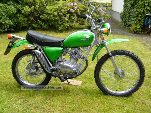 1972 Honda  SL 125 S Motorcycle Enduro/Touring Enduro photo