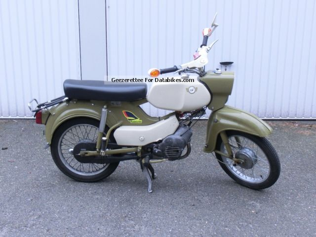 Other  Simson Habicht (SR4 4) 1973 Vintage, Classic and Old Bikes photo