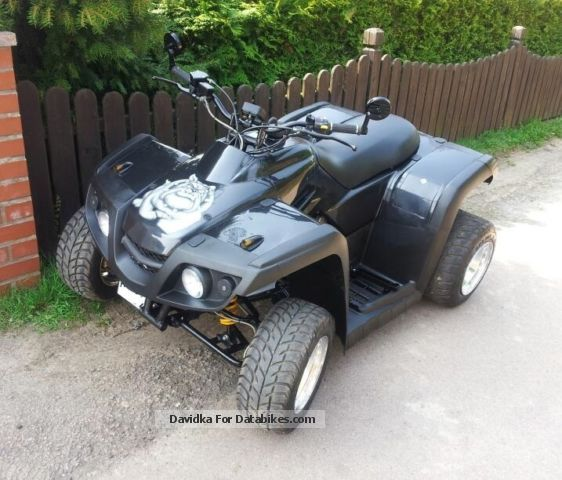 2007 Dinli  450R Motorcycle Quad photo