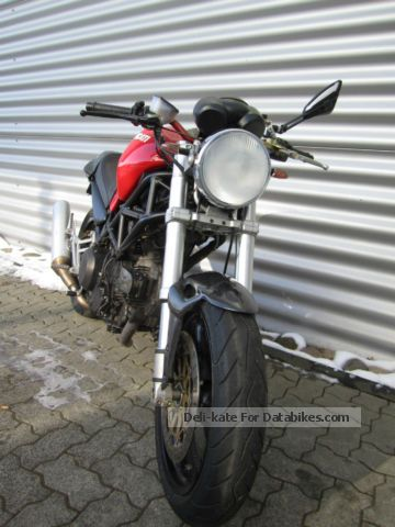 2005 Ducati Monster 620  Motorcycle Naked Bike photo 1