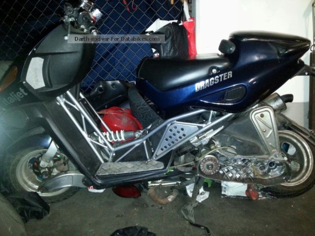 2012 Italjet  Dragster 50 cm Motorcycle Motor-assisted Bicycle/Small Moped photo