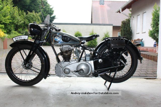NSU  251 OSL 1939 Vintage, Classic and Old Bikes photo