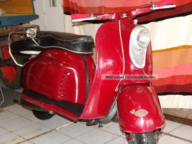 1959 NSU  Prima III K Motorcycle Scooter photo