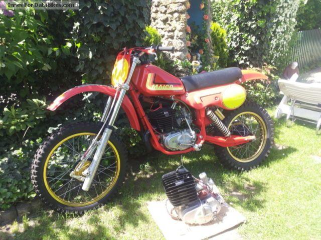 1981 Maico  MC 250 Motorcycle Rally/Cross photo