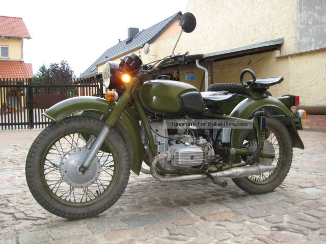 Ural  Dnepr MT 16 with sidecar sidecar drive 1964 Vintage, Classic and Old Bikes photo