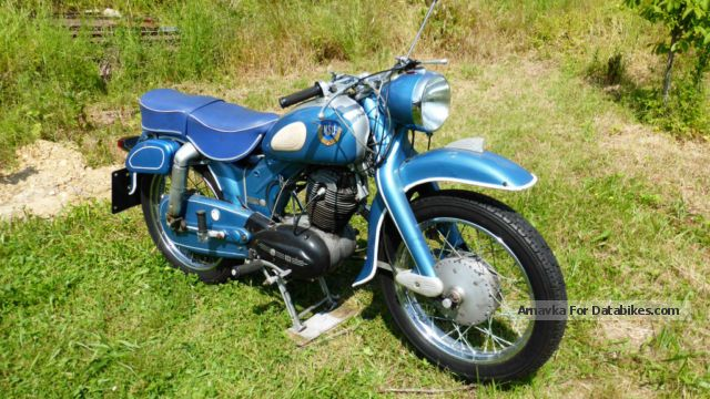 NSU  Special OSB MAX 251 1964 Vintage, Classic and Old Bikes photo