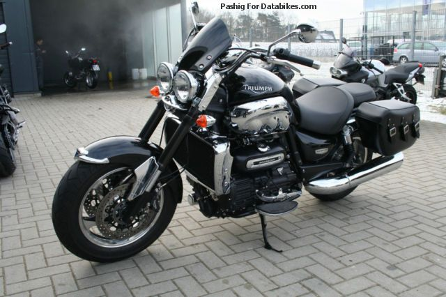 2012 Triumph  Rocket III with saddlebags Motorcycle Motorcycle photo