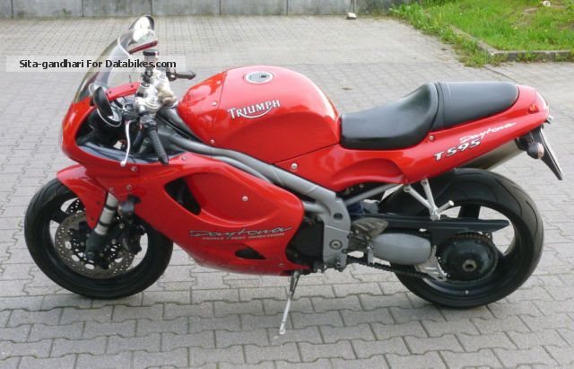 1999 Triumph  T 595 Motorcycle Sports/Super Sports Bike photo