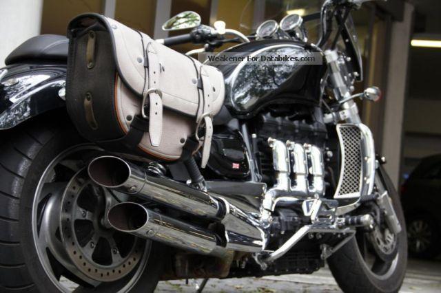 2012 Triumph  Rocket III unikat very good condition Motorcycle Chopper/Cruiser photo