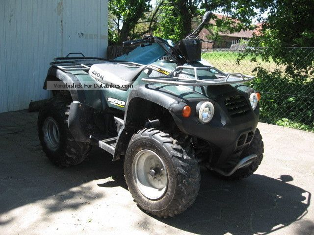 2004 Aeon  AT 72 180 Overland Motorcycle Quad photo