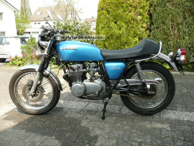 Honda  CB550 Super Sport 1976 Vintage, Classic and Old Bikes photo