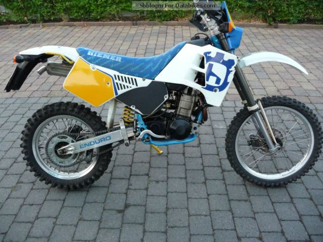 1991 Husqvarna  610TE Motorcycle Rally/Cross photo