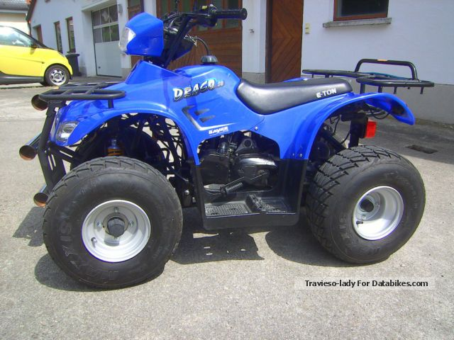 2008 E-Ton  DRACO 50 Motorcycle Quad photo