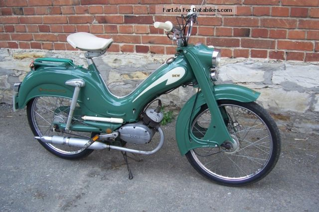 DKW  Hummel, moped, moped, 50 1958 Vintage, Classic and Old Bikes photo