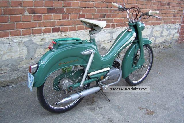 1958 dkw hummel moped moped 50. Black Bedroom Furniture Sets. Home Design Ideas