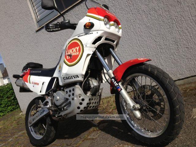 1994 Cagiva  Elefant Lucky Explorer Motorcycle Enduro/Touring Enduro photo