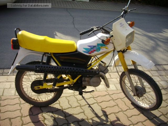 1997 Simson  S53 Motorcycle Motor-assisted Bicycle/Small Moped photo