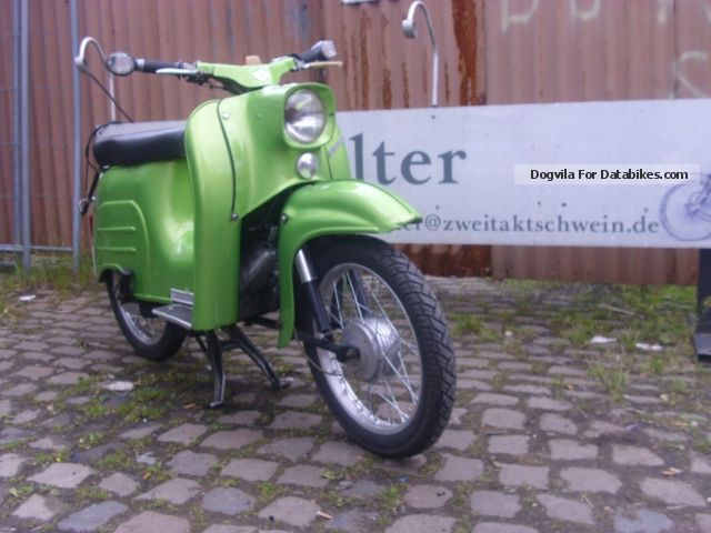 1968 Simson  swallow with Vape Motorcycle Scooter photo